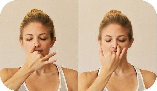 Поочередное дыхание ноздрями