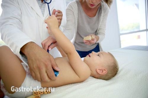 Симптомы и лечение язвы желудка и ДПК у детей