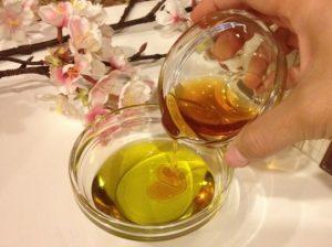 Сочетание меда и масла
