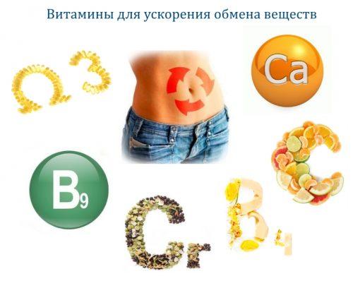 Витамины, ускоряющие обмен веществ