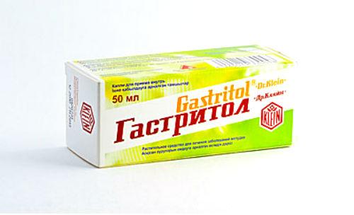 Гастритол при лечении гастрита