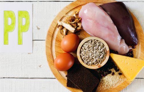 Витамин РР - продукты