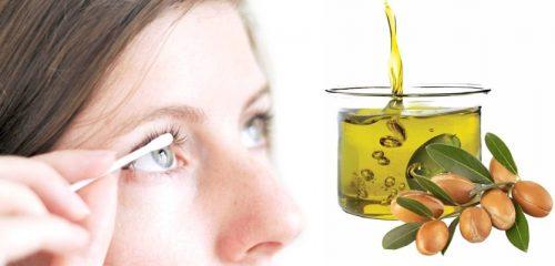 Лечение ресниц маслом арганы