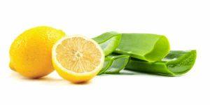Сочетание алоэ и лимона