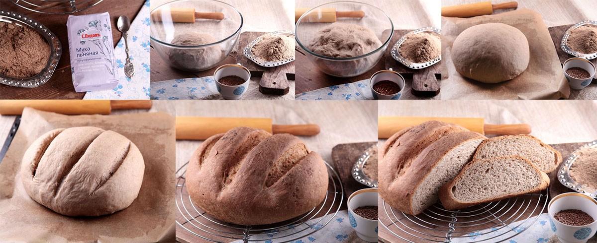 Приготовление домашнего хлеба