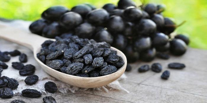 польза сушеного винограда