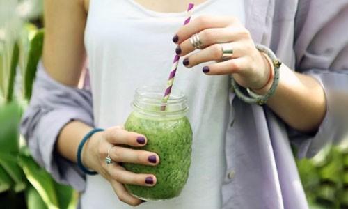 Зеленый водорослевый коктейль Дюкана