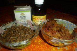 Ингредиенты для компота из из Холосаса, изюма и сенны
