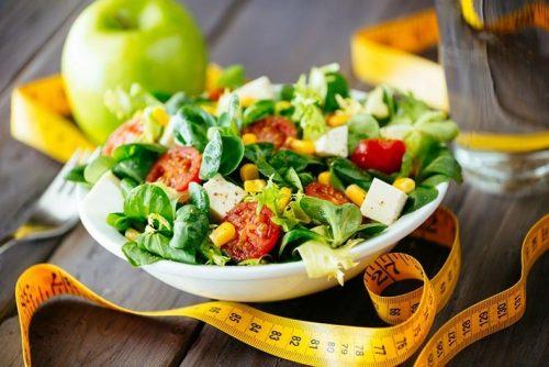 Низкокалорийное похудение на салатах