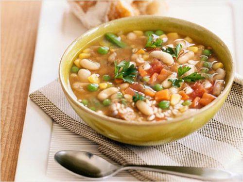 Фасолевый суп для фигуры