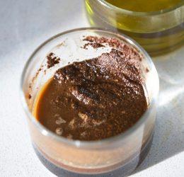Кофейно-масляный скраб