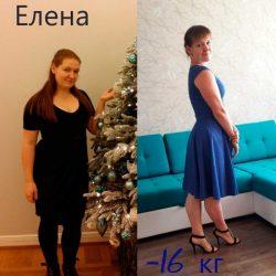 Похудение на 16 кг