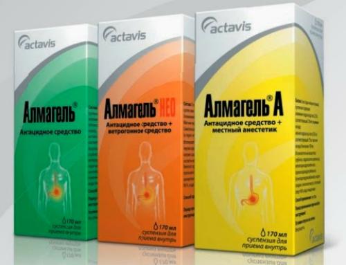 Альмагель для лечения панкреатита